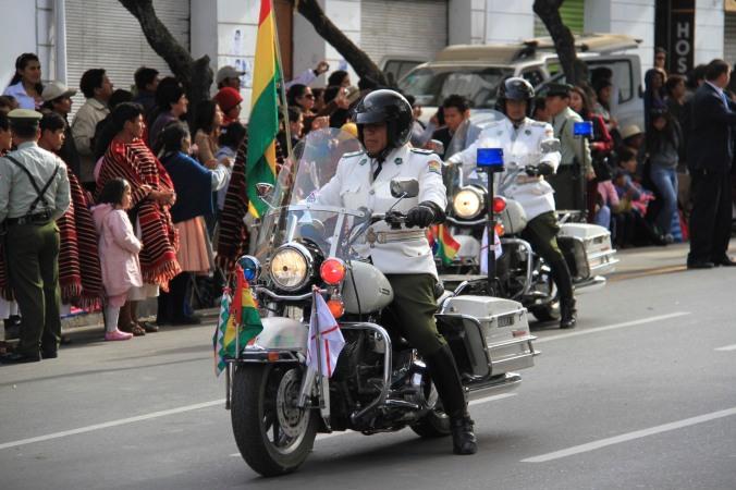 Given the anti-American rhetoric, a strange choice of ride?, Sucre, Bolivia