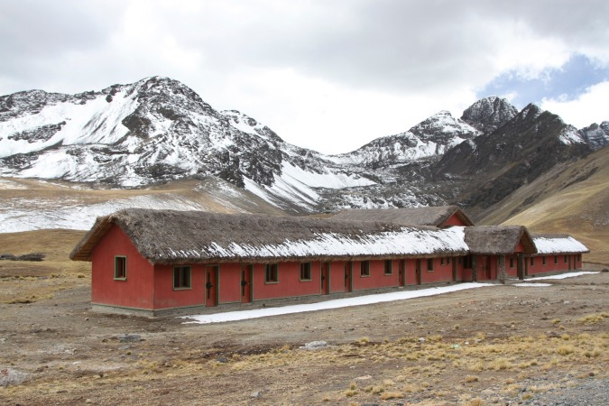 The dysfunctional community hostal at Laguna Ajwani