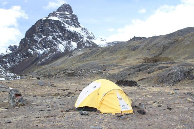 Home sweet home, Cordillera Real, Bolivia