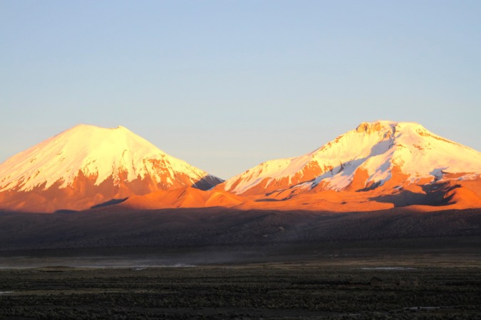 'The Twins', Parinacota and Pomerape, Bolivia