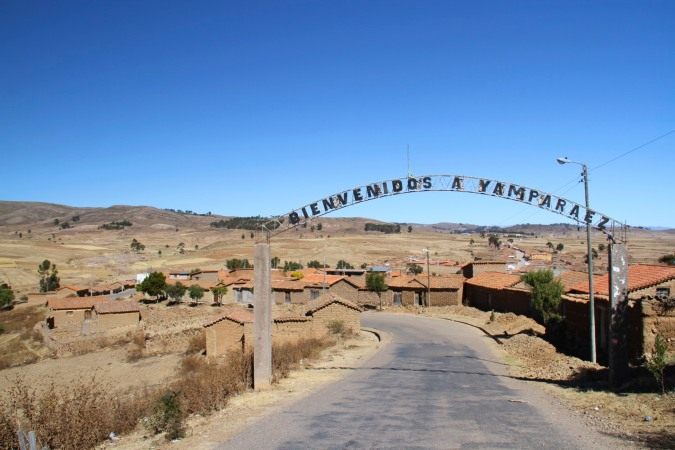 The village of Yamparaez offers a warm welcome but little else, Bolivia