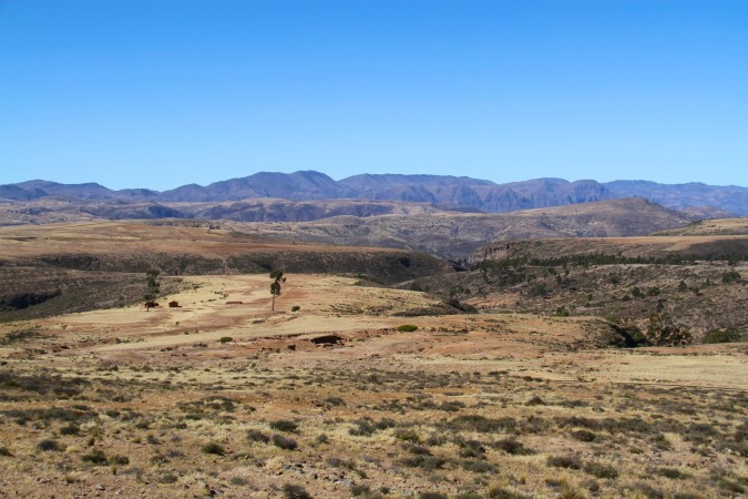 Another range of hills to cross, Tarabuco, Bolivia