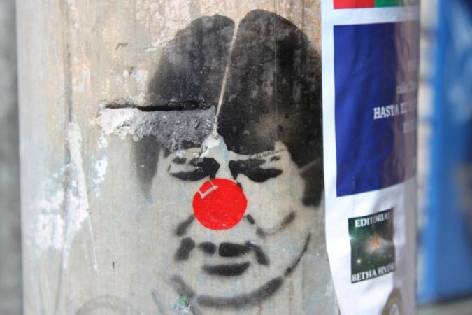 Clown or Red Nose Day ambassador? La Paz, Bolivia