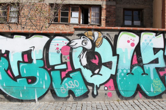 It's Llama time. Street Art, La Paz, Bolivia