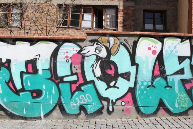 It's Llama time. Street Art, La Paz, Bolivia