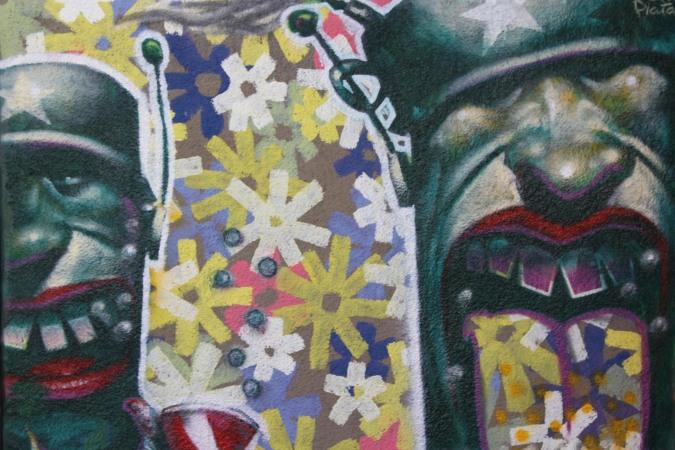 Street Art, La Paz, Bolivia
