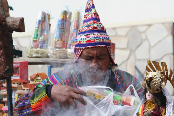 Nice hat! La Fiesta de las Alasitas, Bolivia
