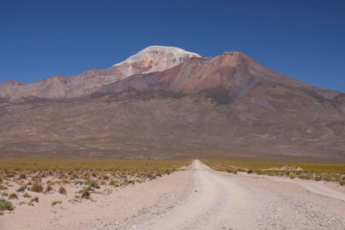 Road to somewhere? Altiplano, Bolivia