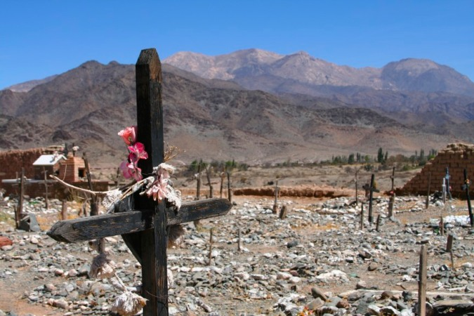 Cemetery, Cachi, Argentinian North West
