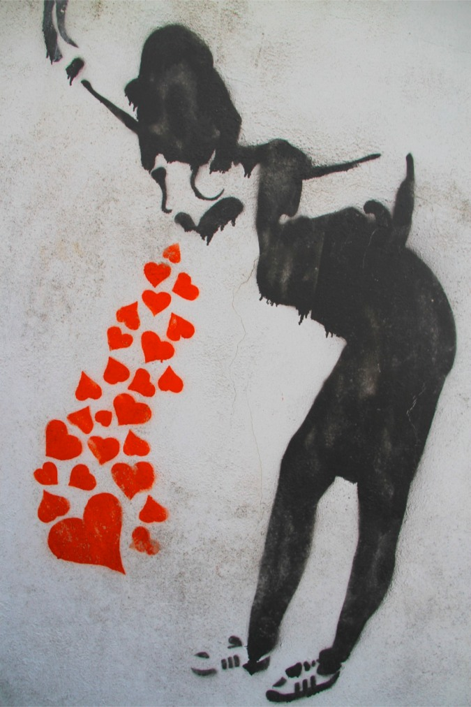Street Art, Whitehaven, Cumbria, England
