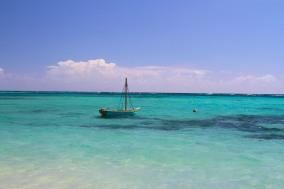 Boat in the Caribbean, Little Corn Island, Nicaragua