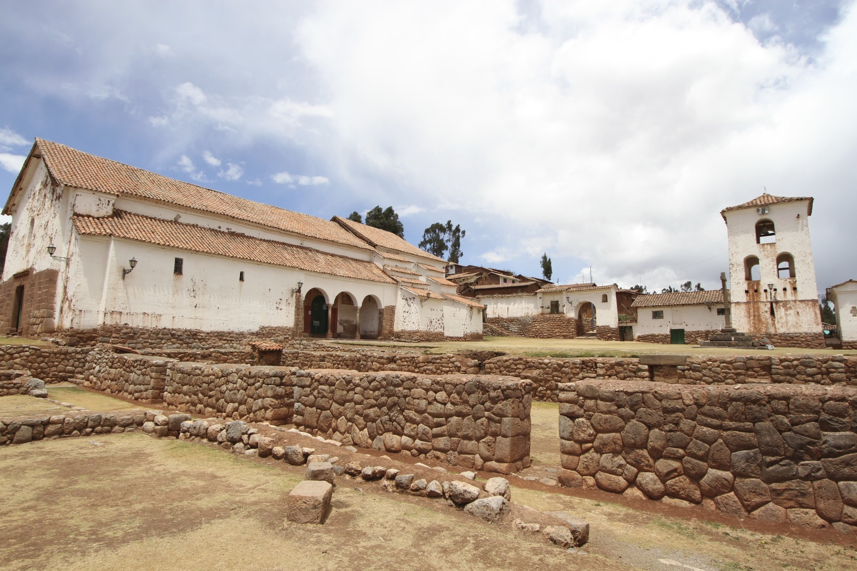 The Sacred Valley of the Inca: Chinchero and the citadel ...
