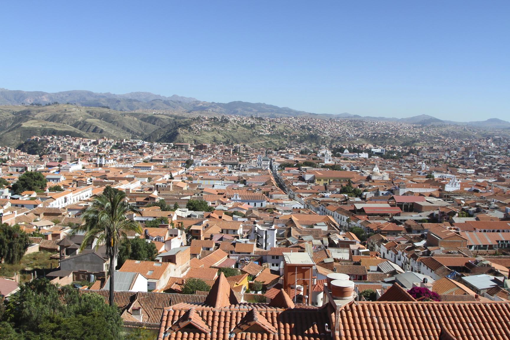 Sucre Bolivia  city photos : The White City, Sucre from the Recoleta, Bolivia
