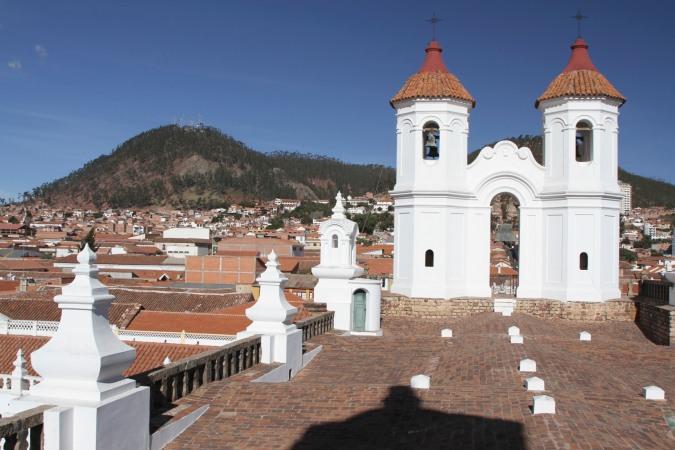 Sucre Bolivia  city images : ... Recoleta from the roof of Convento de San Felipe Neri, Sucre, Bolivia