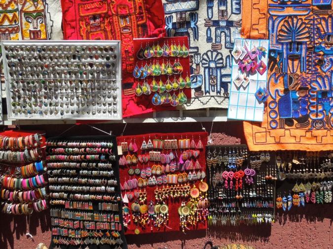 Jewellery, Tarabuco, Bolivia