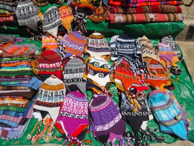 Xmas hats? Tarabuco, Bolivia