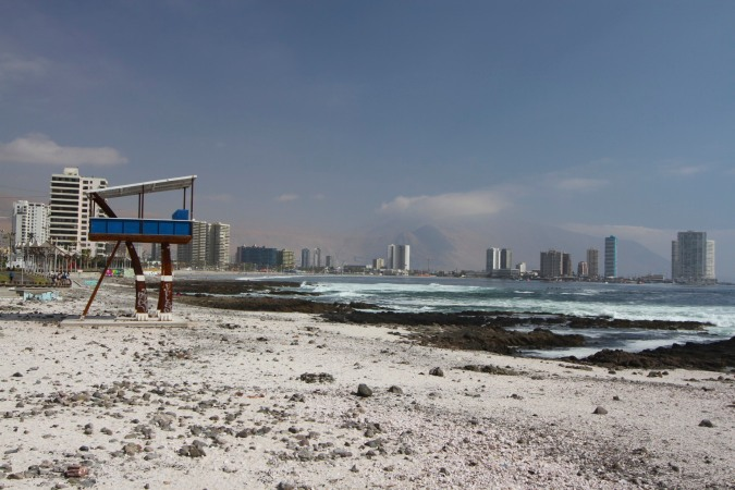 The seafront in Iquique, Chile