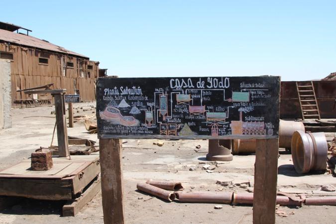 Proceso de Yodo, Humberstone, Atacama Desert, Chile