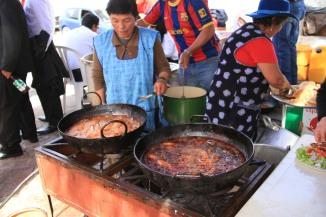 Chorizo Festival, Sucre, Bolivia