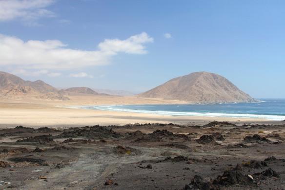 Playa Blanca, Parque Nacional Pan de Azucar, Chile