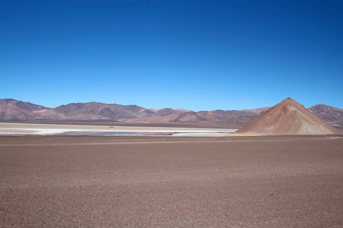 Salt flat, Parque Nacional Nevado de Tres Cruces, Chile