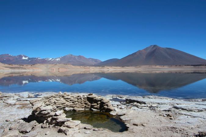 Laguna Verde, Parque Nacional Nevado de Tres Cruces, Chile