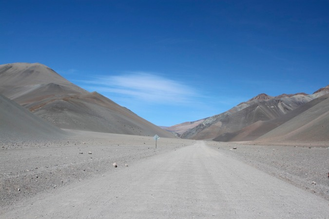 Road to somewhere? Parque Nacional Nevado de Tres Cruces, Chile