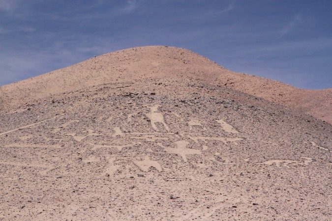 Geoglyphs, Atacama Desert, Chile