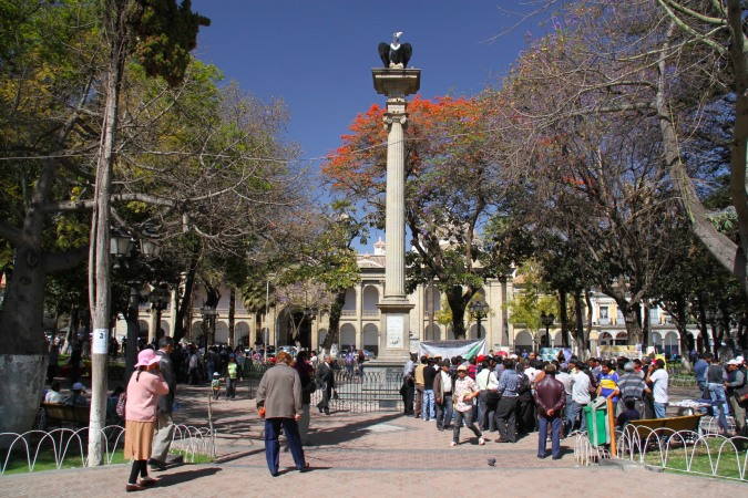 Plaza Central, Cochabamba, Bolivia