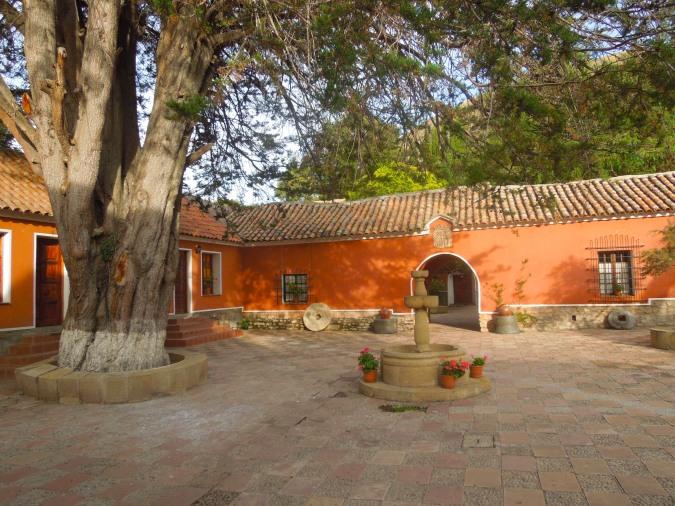 Courtyard, Hacienda Cayara, Cayara, Bolivia