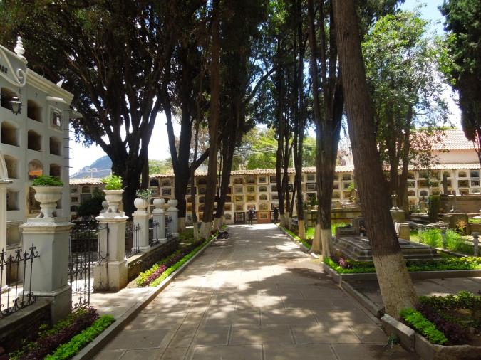 Cementerio General, Sucre, Bolivia
