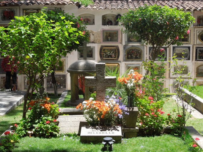 Graves, Cemetario, Sucre, Bolivia