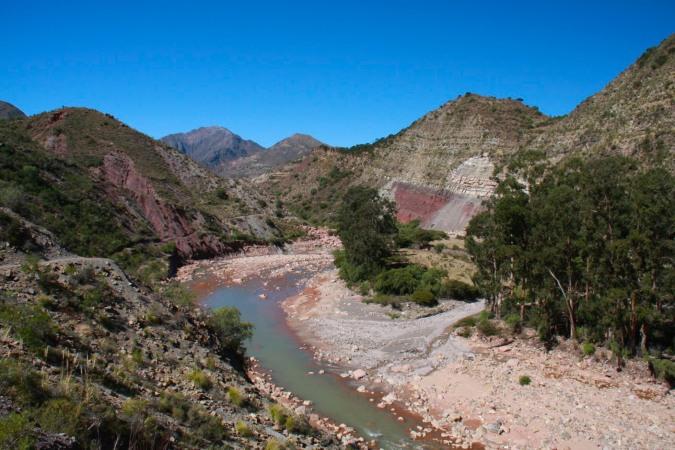 The Cordillera de los Frailles, Sucre, Bolivia