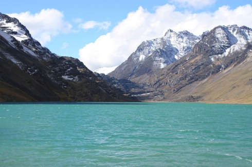 Lake in the Cordillera Real, Bolivia