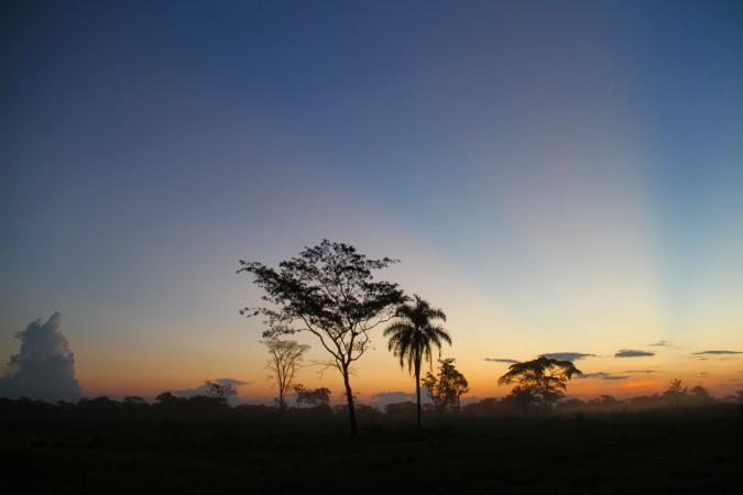 Sunset, San Ignacio de Moxos, Bolivia