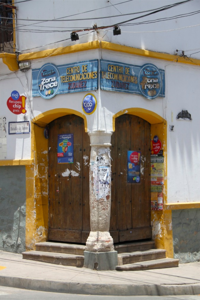 Doorway, Sucre Bolivia
