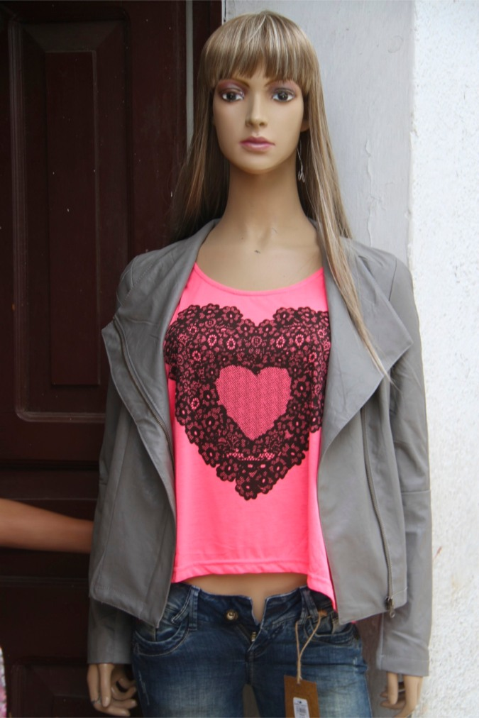 Mannequin with heart, Sucre, Bolivia