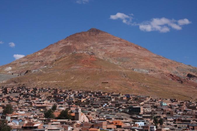 The Cerro Rico, Potosi, Bolivia