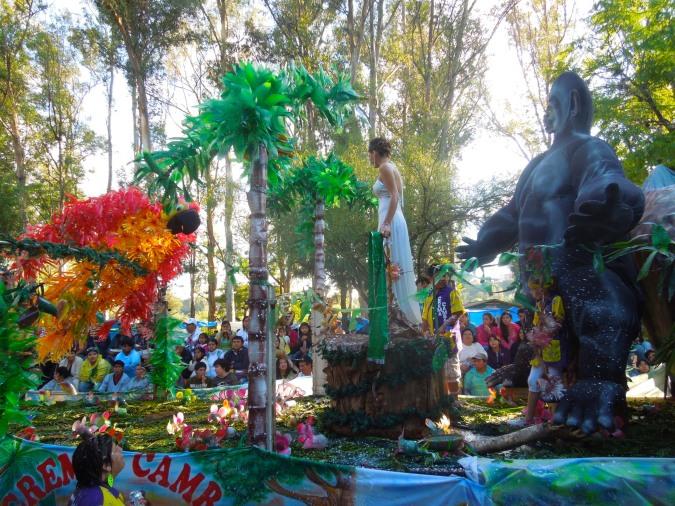 King Kong float, carneval, Tarija, Bolivia
