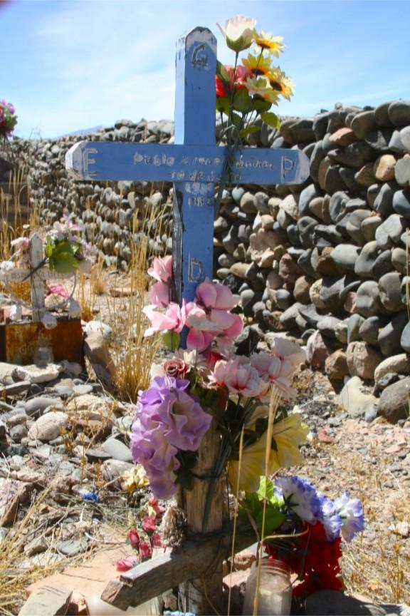 Cemetery at Cachi, Argentina