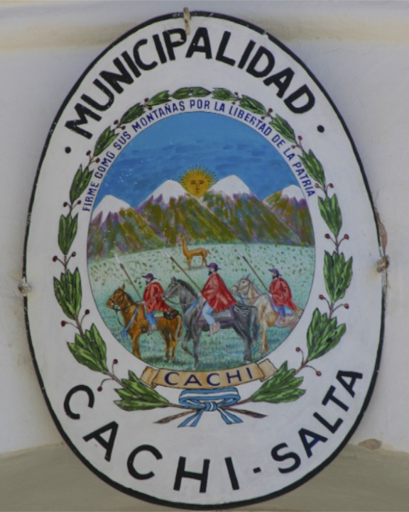The symbol of Cachi, Argentina