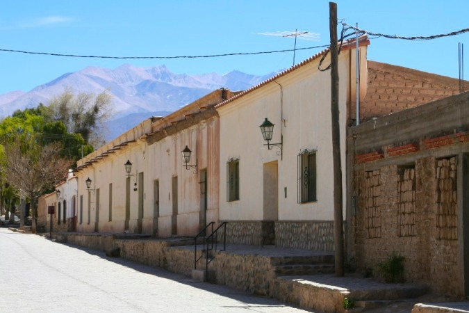 The village of Cachi, Argentina