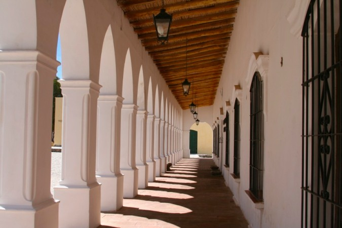 Arches, the village of Cachi, Argentina