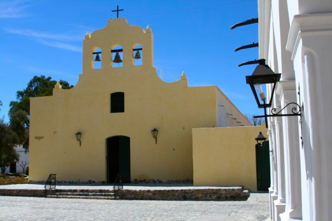Iglesia San Jose, the village of Cachi, Argentina