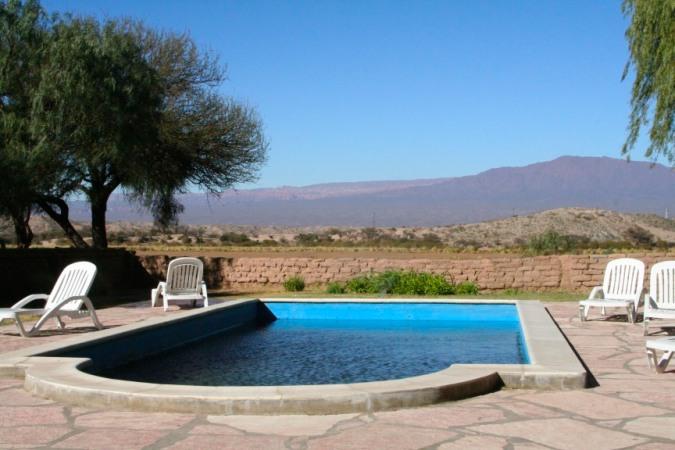 Swimming pool, Hostal Provincial de Molinos, Molinos, Argentina