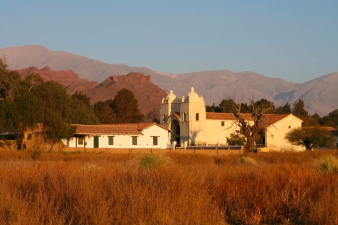 Early morning light on Molinos, Argentina