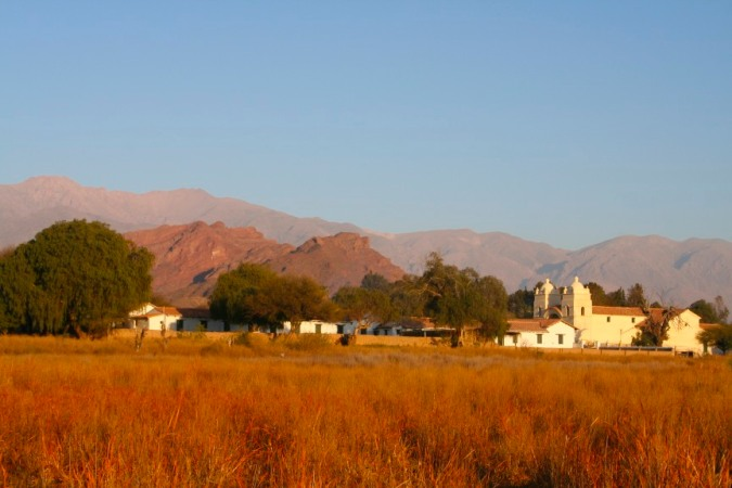 Early morning light on Molinos, Argentina