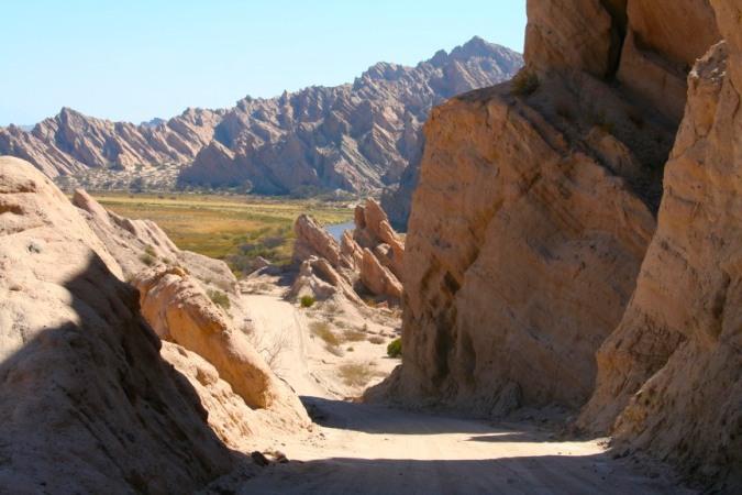 The Ruta 40 between Molinos and Cafayate, Argentina