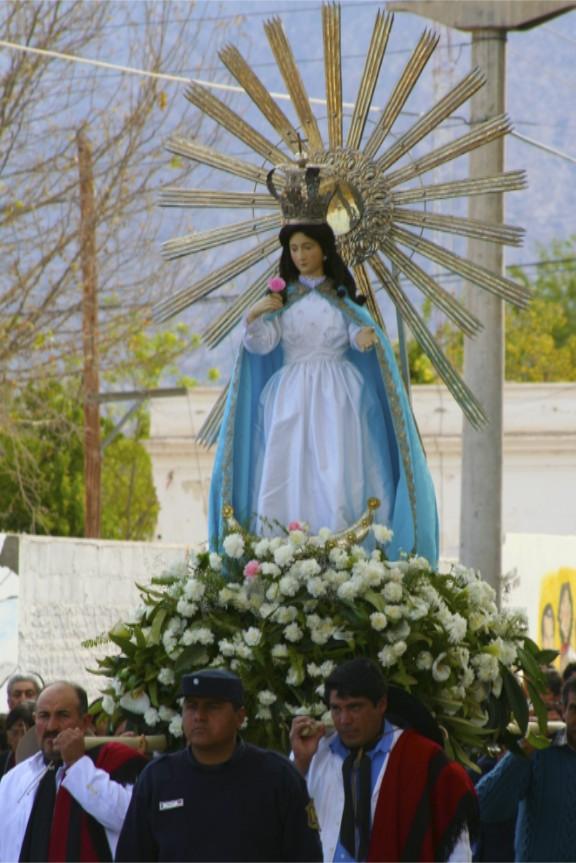Religious procession, Cafayate, Argentina