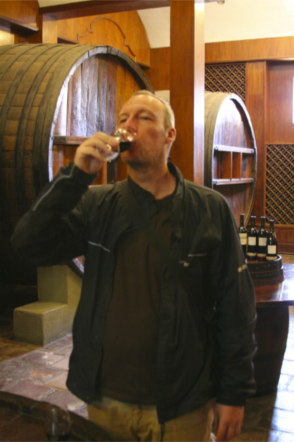 WIne tasting at the Bodega Etchart, Cafayate, Argentina